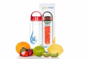 hydrated infuser water bottles