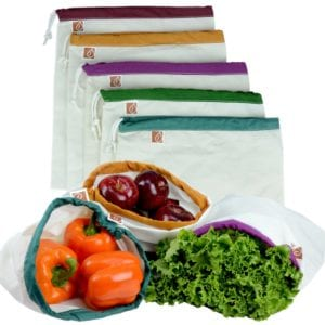 produce bags from cotton