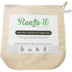 Premium Organic Cotton Nut Milk Bag