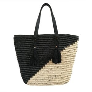 Straw Beach'd Large Tote Bag